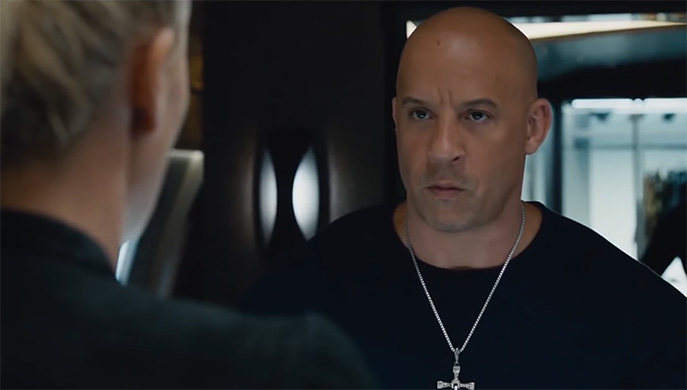 This is a role that Vin Diesel is perfect for. The Fate of the Furious (Fast and Furious 8). Image Credit: Universal.