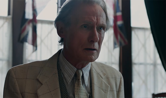 Bill Nighy gives one of his best performances. Their Finest. Image Credit: Lionsgate.