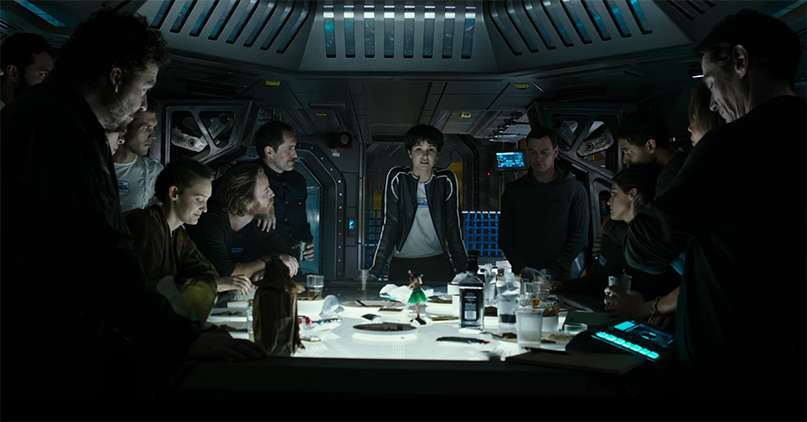 The whole cast is putting in strong performances. Alien: Covenant. Image Credit: 20th Century Fox.