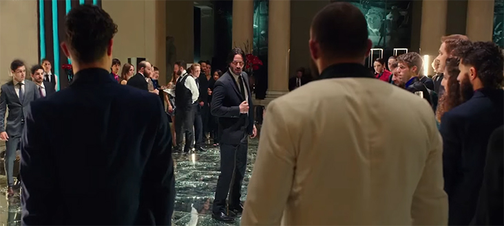 He does not like it but John is dragged back into this world. John Wick Chapter 2. Image Credit: Lionsgate.