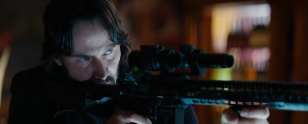 John Wick Chapter 2. Image Credit: Lionsgate.