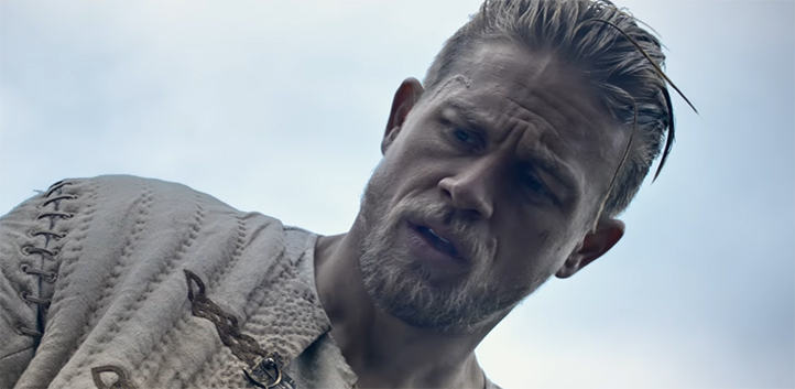 Charlie Hunnam is a really good Arthur. King Arthur Legend of the Sword. Image Credit: Warner Bros.