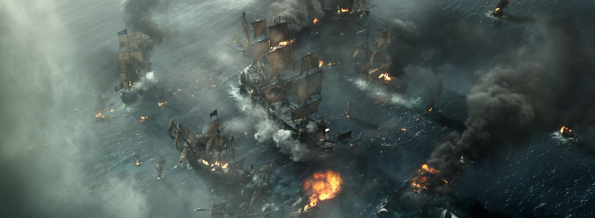 Pirates of the Caribbean: Dead Men Tell No Tales. Image Credit: Disney.