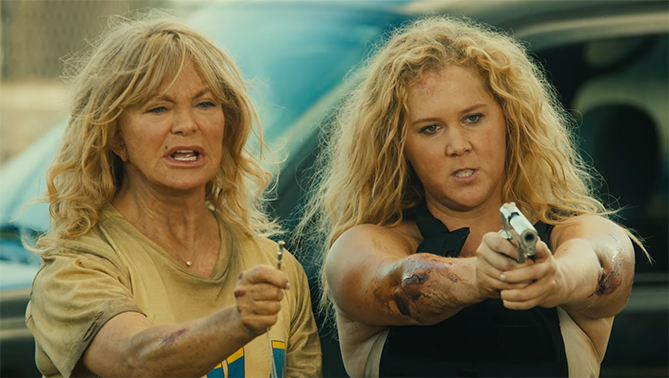 Unfortunately moments like these which look interesting are lacking throughout Snatched. Snatched. Image Credit: 20th Century Fox.