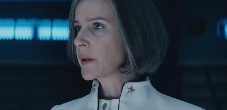 Rachel Griffiths always gives a command. The Osiris Child Science Fiction Volume One. Image Credit: Madman. performance