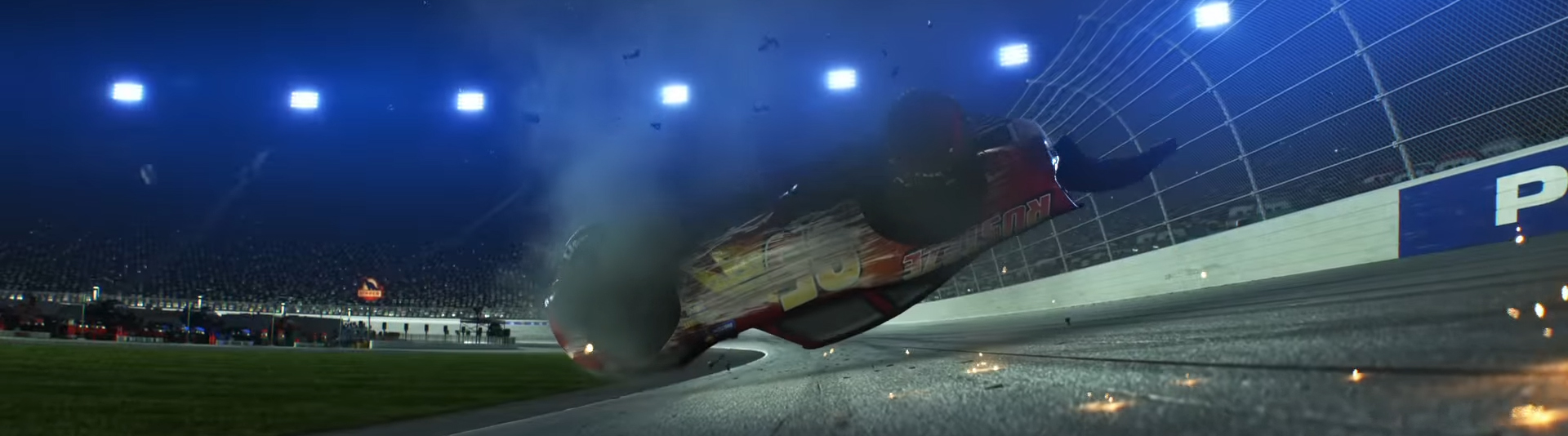 Cars 3. Image Credit: Pixar/Disney.