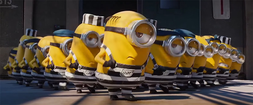 Yes I found the Minions to be hella funny. Despicable Me 3. Image Credit: Illumination.