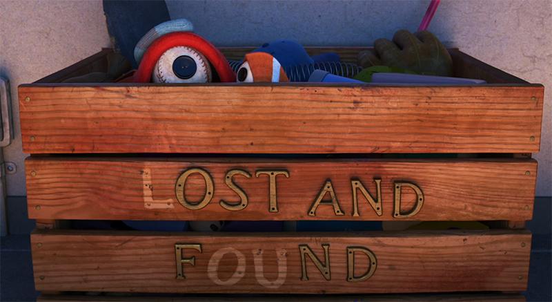 Lou is beautiful in every way. Lou. Image Credit: Pixar/Disney.
