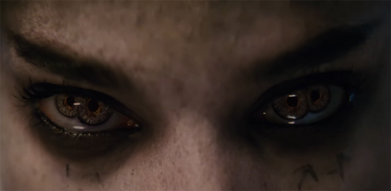 Sofia Boutella shows the power of acting. The Mummy. Image Credit: Universal. with your eyes