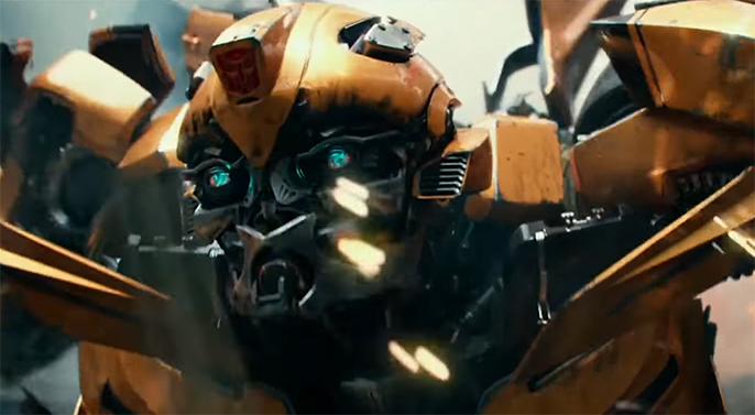 Bumblebee is Last Knight's MVP. Transformers The Last Knight. Image Credit: Paramount.