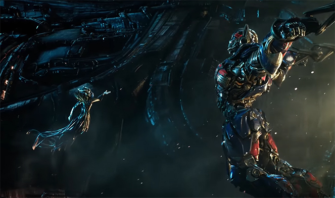 There are a lot of missed opportunities, and unnecessary plot lines. Transformers The Last Knight. Image Credit: Paramount.