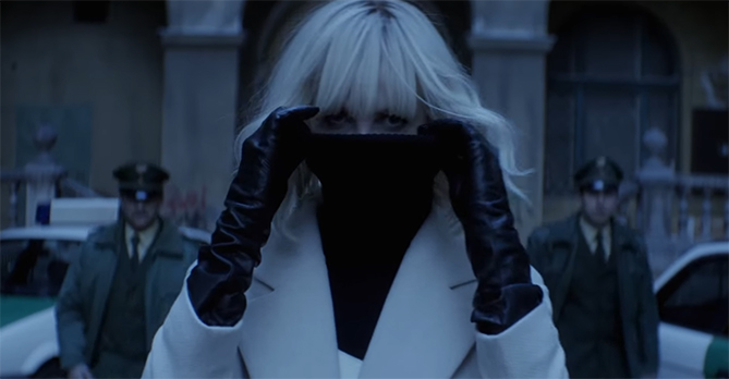 The action sequences are the clear highlight. Atomic Blonde. Image Credit: Universal.