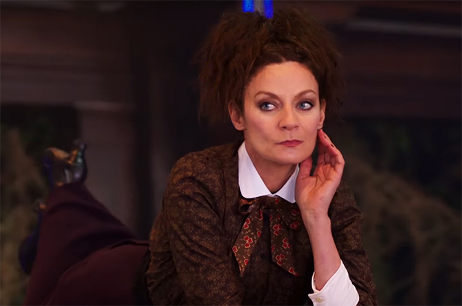 More Michelle Gomez in everything, please and thank-you. Image Credit: BBC.