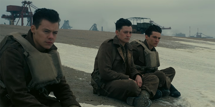 Every frame is a painting. Dunkirk. Image Credit: Warner Bros.