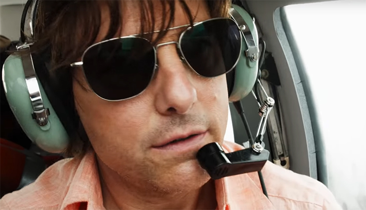 Tom Cruise does a great job driving the film. American Made. Image Credit: Universal.