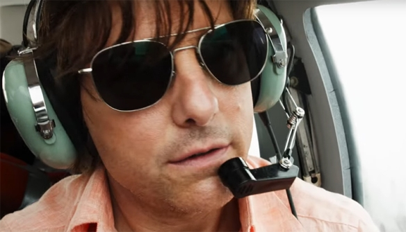 Tom Cruise does a  great job driving the film
