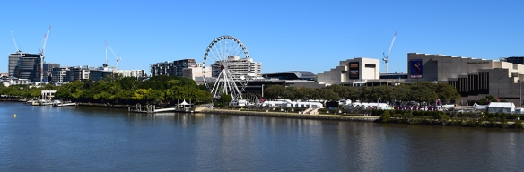 Brisbane on a beautiful winters day