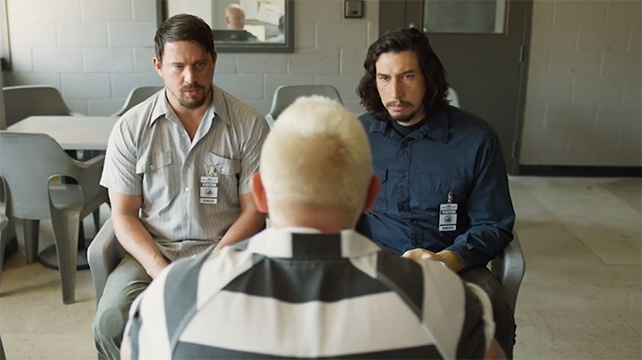 When the film is actually heisting, it really works. Logan Lucky. Image Credit: Bleecker Street.