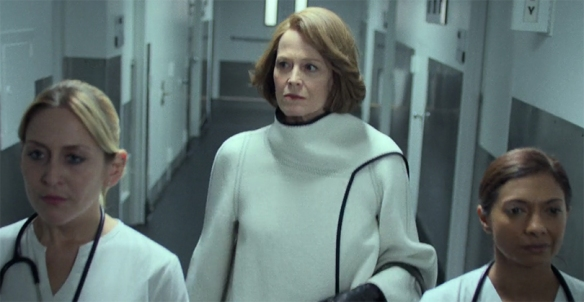 Sigourney Weaver gives a captivating performance from the moment she arrives