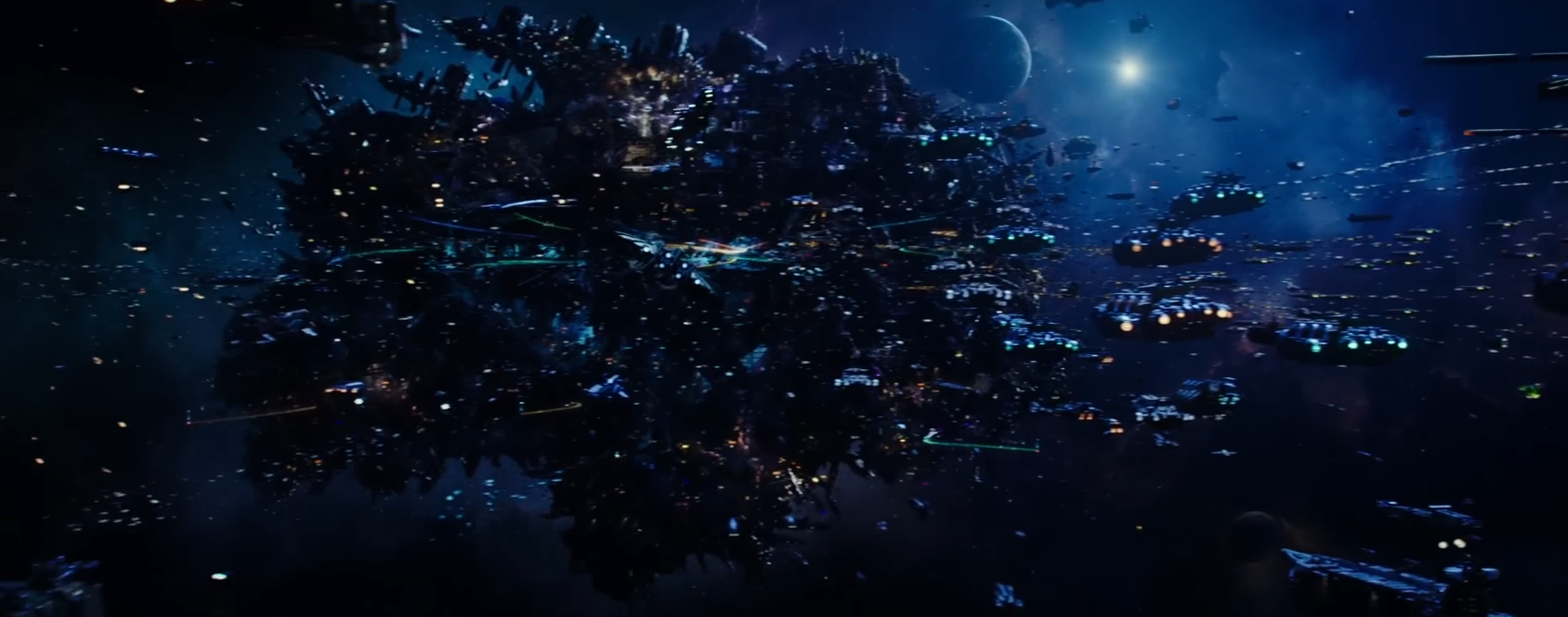 Valerian and the City of a Thousand Planets (Valérian et la Cité des mille planètes). Image Credit: STX Entertainment.
