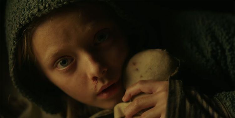 Amiah Miller gives an amazing performance. War of the Planets of the Apes. Image Credit: 20th Century Fox.