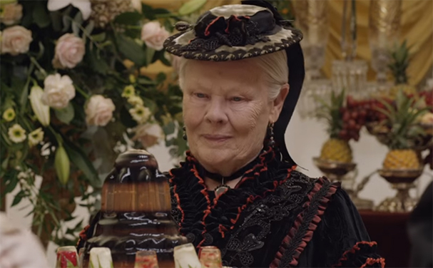 Judi Dench is simply stunning as Queen Victoria. Victoria and Abdul. Image Credit: Universal.
