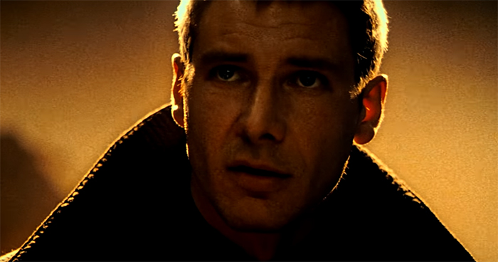Harrison Ford in one of his best roles. Blade Runner. Image Credit: Warner Bros.