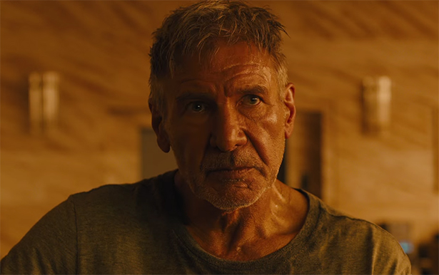 Harrison Ford shows how to approach a character that you have not played in may years. Blade Runner 2049. Image Credit: Warner Bros.