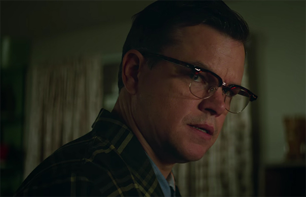 One of the interesting things about the film is how badly the trailer misrepresents the final product. Suburbicon. Image Credit: Paramount.