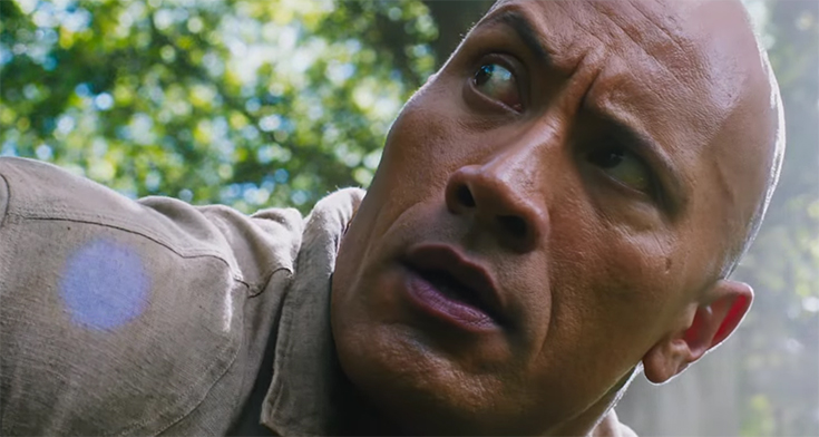 I feel this is some of Dwayne Johnson's best work, also can he be cast as a Vulcan in the next Star Trek film please and thank-you. Jumanji Welcome to the Jungle. Image Credit: Sony.
