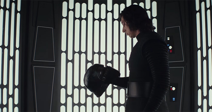 """""""Let the past die"""" might have a bit more meaning than just a random line of dialogue. Star Wars The Last Jedi. Image Credit: Disney/Lucasarts."""