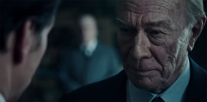 Christopher Plummer brings a wealth of experience to the role of J. Paul Getty