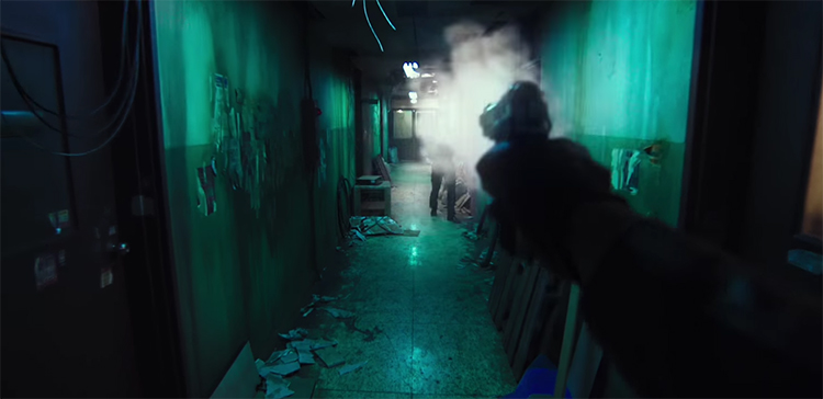 The action scenes are the clear highlight. The Villainess (Ak-Nyeo, 악녀). Image Credit: Well Go.