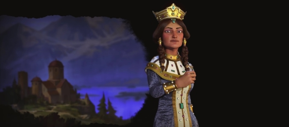 Welcome Queen Tamar of Georgia to Civilization VI banner