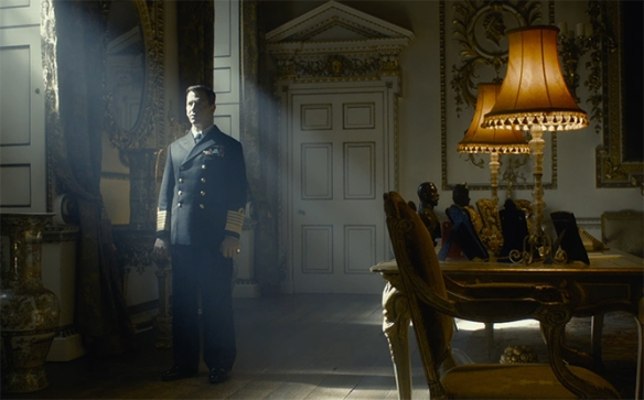 Ben Mendelsohn is giving a fantastic performance here as King George VI