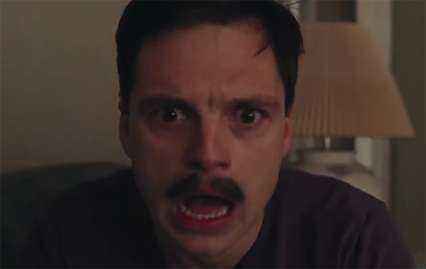 I really like Sebastian Stan as an actor, and it was hard to watch him play a character that is just reprehensible