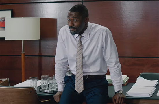 Idris Elba is perfectly cast here