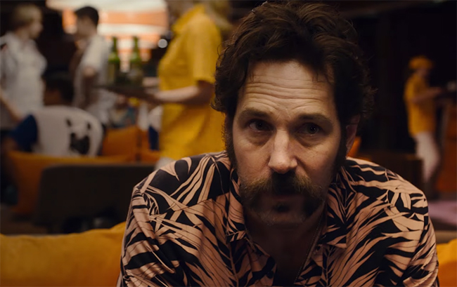 It is good to see Paul Rudd expanding the roles he is taking on.