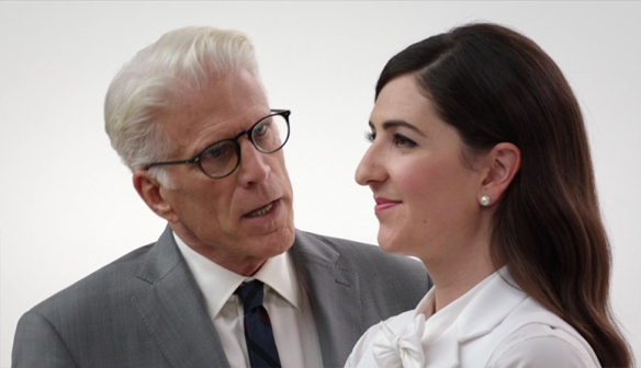 At the heart of The Good Place, is trying to be better people and to help the world become a better place, and I can really get behind that.