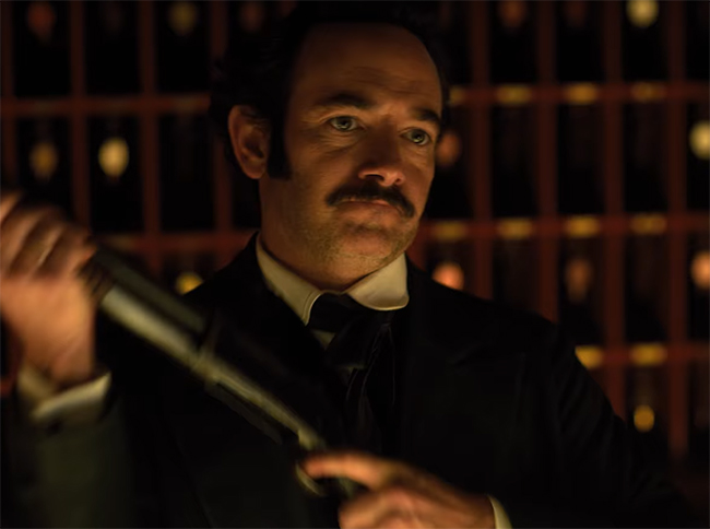 In many respects Altered Carbon is worth watching for Edgar Allen Poe alone