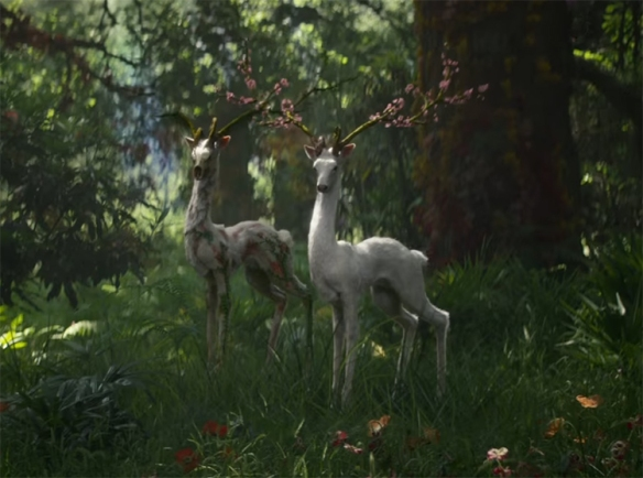 The creature creation in Annihilation is both beautiful and horrifying