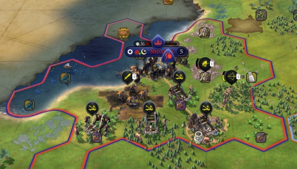 The AI is much better at taking cities now, well at least until walls come along