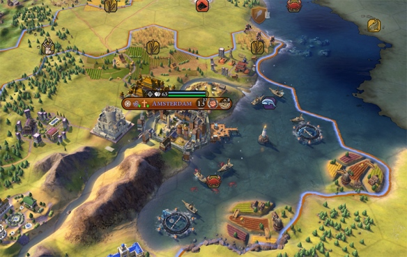 New civilizations, new mechanics, new wonders all come into play