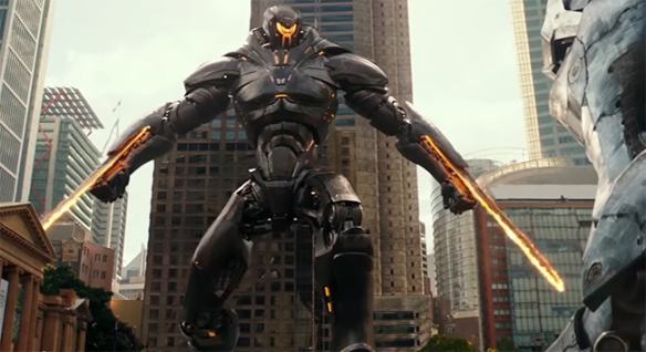The creature design in Pacific Rim Uprising is just as good as the first film