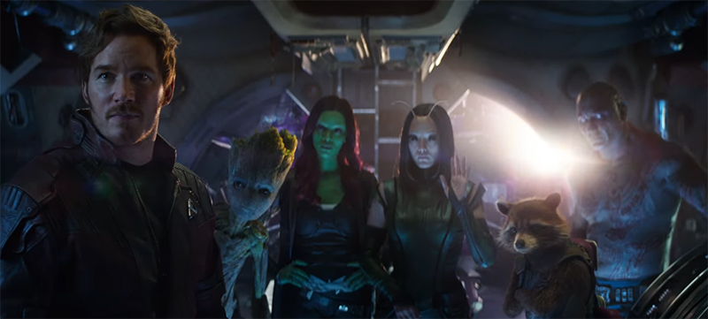 We have really expanded the cast this time round with the Guardians joining the Avengers