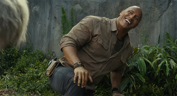 Dwayne Johnson is perfectly cast in this role
