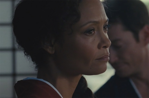 Thandie Newton brings so much emotion into her acting that she can convey a whole conversation in just one look