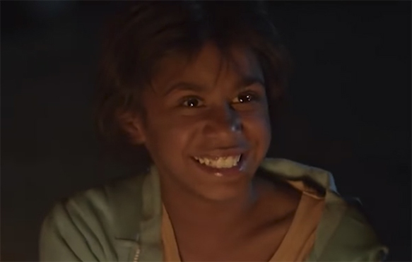 Simone Landers lights up the screen in Cargo