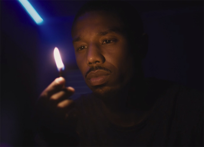 While some aspects of the film do not come together, Michael B. Jordan is still giving his everything to the role here