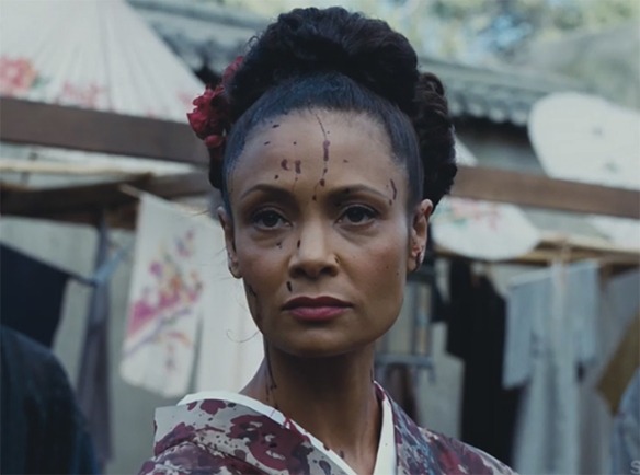 Everything that Thandie Newton does is pure gold